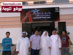 الشيخ / علي بن سليمان الشهري في زيارة لفعالية نجم أبها للمواهب