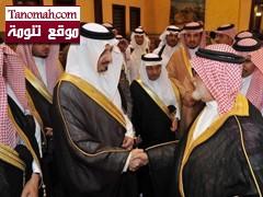 وفد من أهالي تنومة يعزون أمير عسير في وفاة نايف بن عبدالعزيز