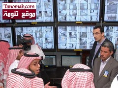 تدشين 353 كاميرا مراقبة بجامعة الملك خالد