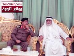 مدير شرطة منطقة عسير يزور الجحني