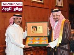 أمير منطقة عسير يستقبل الأستاذ علي السالمي رئيس مجلس إدارة قناة شموس الفضائية