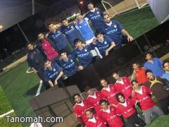 شباب النجوم يفوز على السد ويتأهل للمباراة النهائية في دوري تنومة لكرة القدم