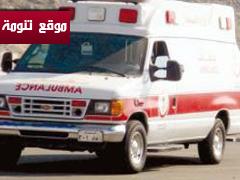 إصابة ثلاثة من عائلة واحدة في حادث مروري على طريق الحصون