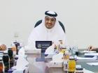 اجتماع رئيس المركز بمديري ورؤساء الدوائر الحكومية