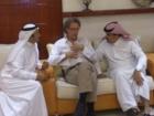 الدكتور عبد الرحمن بن هشبول يتحاور مع عدداً من علماء القلب