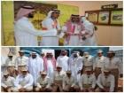 مدير تعليم النماص يفتتح معرض السيرة النبوية بثانوية الملك خالد بحلباء