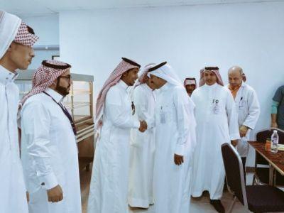 منسوبي مستشفى تنومه العام يحتفلون بالعيد