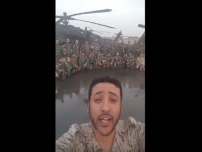 بالفيديو: الطيارين يوجهون رسالة للشعب السعودي