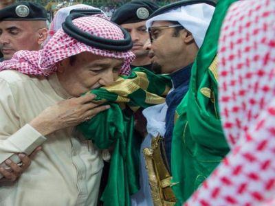 لقطات من حفل العرضة السعودية بحضور الملك سلمان بن عبدالعزيز