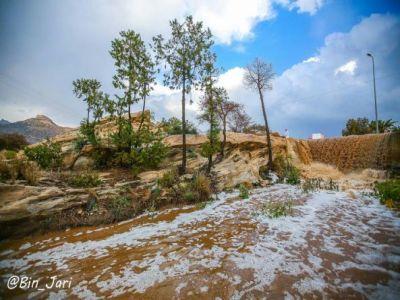 #عدسة بن جاري ترصد #أمطار #تنومة في 10 #صور