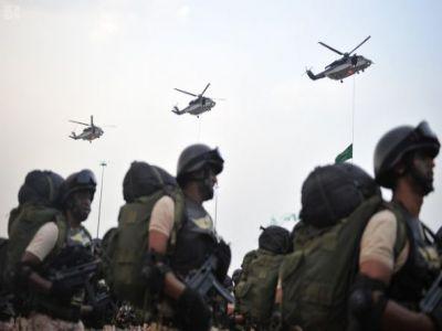 بالصور:استعراض قوات أمن الحج أمام سمو ولي العهد