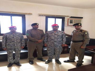 ترقية الشهري لرتبة عريف بسجن #تنومة