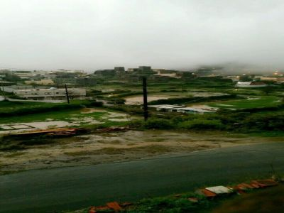 """أمطار #الباحة تغلق عقبة """"الأبناء"""" إحترازياً"""