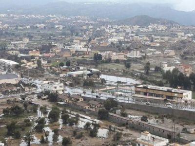 #أمطار غزيرة على #تنومة
