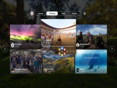 فيس بوك تطلق تطبيق Facebook 360 لنظارة Gear VR