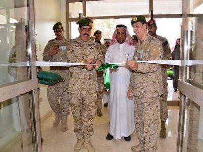 اللواء المالك يدشن عدد من المشاريع بمستشفى القوات المسلحة بالجنوب