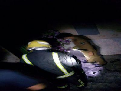 وفاة عائلة في حريق منزل بثلوث المنظر