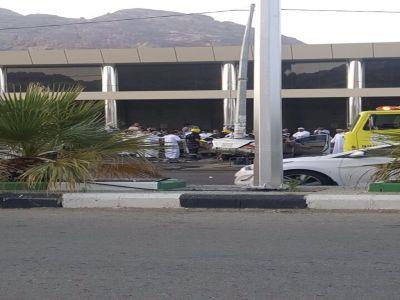 السرعة العالية خلف حادث #تنومة