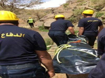 بالصور: الدفاع المدني يباشر حادث غرق شاب عشريني في غدير المحتطبة