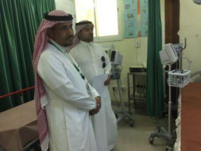 السلومي يزور عدداً من المراكز الصحية بمحافظة بارق