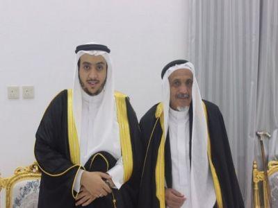 """""""عبدالله بن عصمه"""" يحتفل بزواج نجله """"محمد"""""""