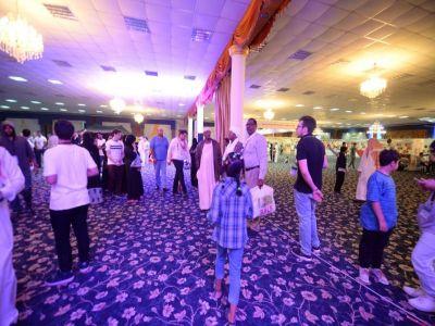 أكثر من٢٥٠٠ زائر لمهرجان  القرية العربية بأبها
