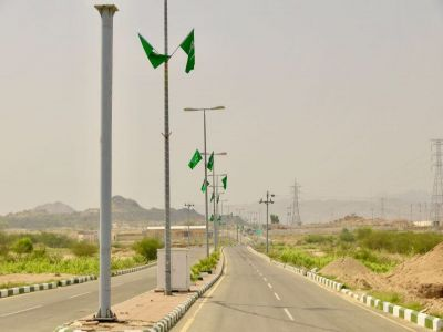بلدية بارق تواصل أستعداداتها للأحتفال باليوم الوطني 87