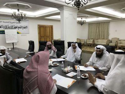 مجلس إدارة جمعية تحفيظ القران بمدينة #الباحة يعقد اجتماعه مع بداية العام الدراسي الجديد