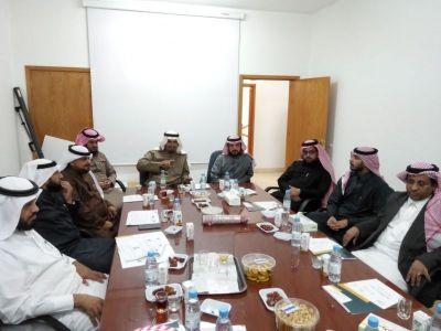 لقاء قادة المدارس بمكتب التعليم بـ #بني_عمرو
