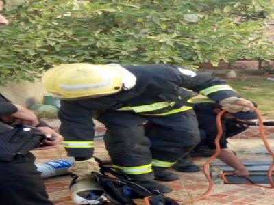 في #خميس_مشيط: مواد تنظيف تقتل وافد وتصيب أخر بإغماء
