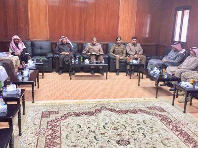 اجتماع لجنة للجنة الدفاع المدني بالحرجة