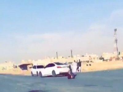 بالفيديو: القبض على المتورط في الدهس العمد