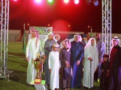 حرس الحدود بمنطقة عسير يقيم حفل  ختام دوري كرة القدم