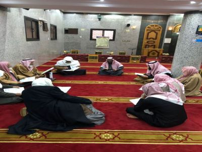 مكتب المساجد والدعوة والإرشاد بمركز بللسمر يقيم دورة تصحيح التلاوه