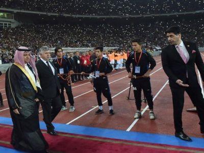 رئيس الاتحاد العراقي يشكر آل الشيخ على جهوده لرفع الحظر