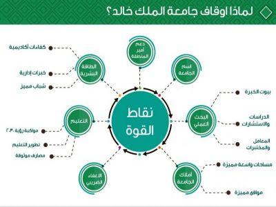 ١٢ مشروعا تتصدر اهتمامات  صندوق أوقاف جامعة الملك خالد الاستثماري