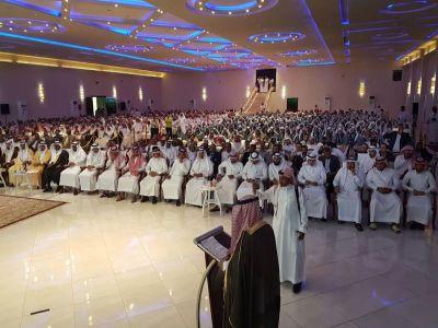 جامعة الملك خالد تحتفل بتخريج الدفعة السابعة بفرع تهامة