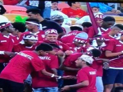 كشف حقيقة فيديو توزيع مادة مشبوهة على مشجعي الفيصلي في نهائي كأس الملك