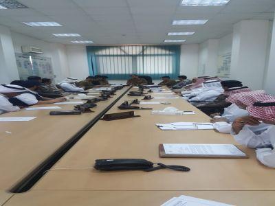 لجنة مدني عسير تستعد للحالة المدارية