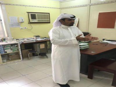 القحطاني يتفقد مركز صحي ظهاير قنيع ويوجه بتحسين بيئة العمل بمرافق المركز