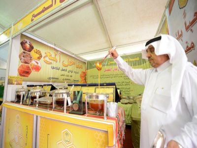 مهرجان العسل يدشن فعالياته بمشاركة ٢٥ عارضا