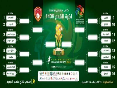 الاثنين.. انطلاق بطولة كأس الخميس لكرة القدم بمشاركة 16 فريقا من المنطقة الجنوبية