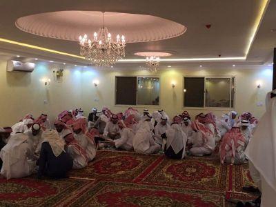 اسرة ال عثمان تحتفل بأبنها الملازم عبدالله