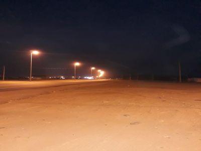 بلدية بارق تطلق إنارة الشارع العام و تقوم بصيانة شاملة للإنارة بربيعة