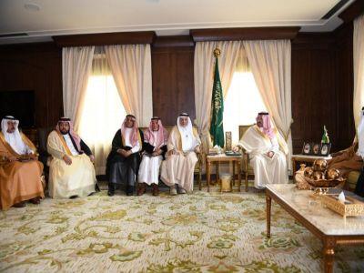 نائب أمير منطقة عسير يلتقي أمين وأعضاء لجنةإصلاح ذات البين