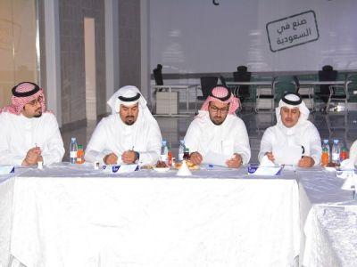 اللجنة الصناعية بغرفة أبها تعقد الاجتماع السادس بالمدينة الصناعية بعسير.