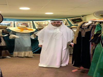 التراث العسيري  يسجل حضوره بمهرجان الشيخ زايد التراثي في الإمارات