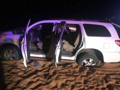 الجهات الأمنية تقبض على المتورطين في اطلاق النار على نقطة التفتيش بعسير