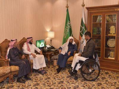 """جمعية طيبة للإعاقة الحركية في زيارة """"بر أبها"""""""