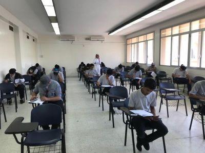 4 الألف متدرب يؤدون الاختبارات بتقنية ابها